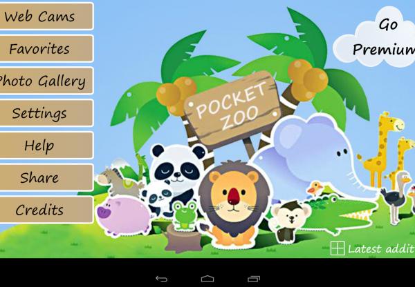 Pocket Zoo HD – os zoos na palma da mão