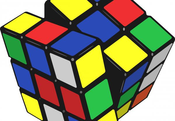 a solução do cubo mágico