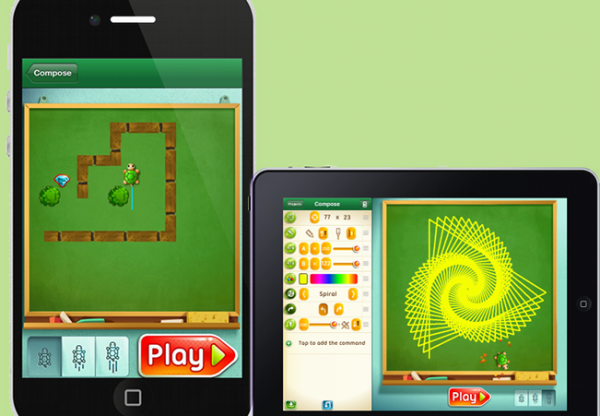 Move the Turtle: Programação para crianças