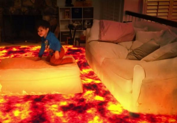 Pai cria efeitos especiais para o filho