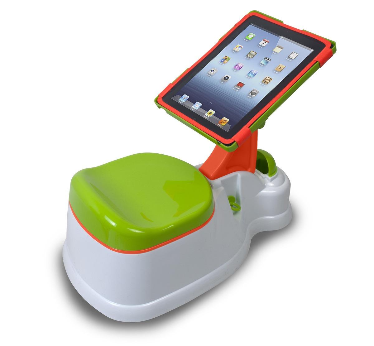 Pinico com suporte para iPad