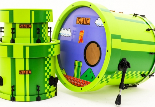 Bateria do Super Mario Bros