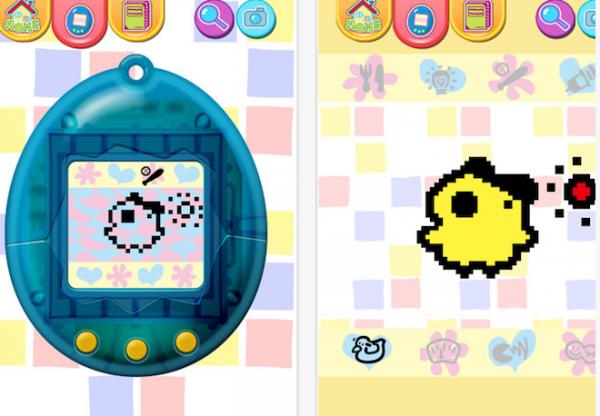 Tamagotchi voltou em versão app