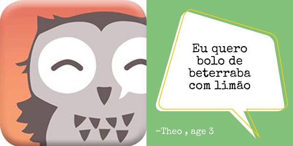 App para as frases de seu filho
