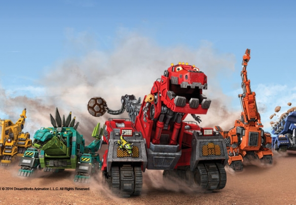 Aventura e ação com Dinotrux