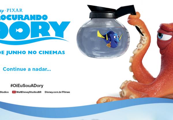"""Amanha estréia """"Procurando Dory"""" nos cinemas"""