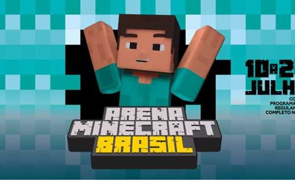 Amanha estréia a Arena Minecraft Brasil