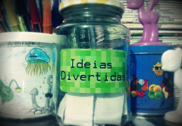 Pote de Ideias Divertidas
