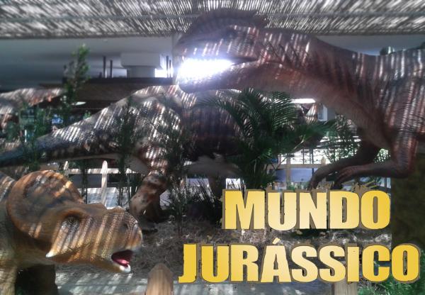 Os dinossauros estão por São Paulo