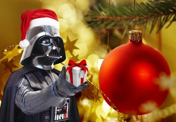 Natal Geek com Papai Noel Vader em São Paulo