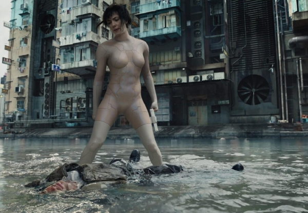 …E amanha estréia Ghost in the Shell