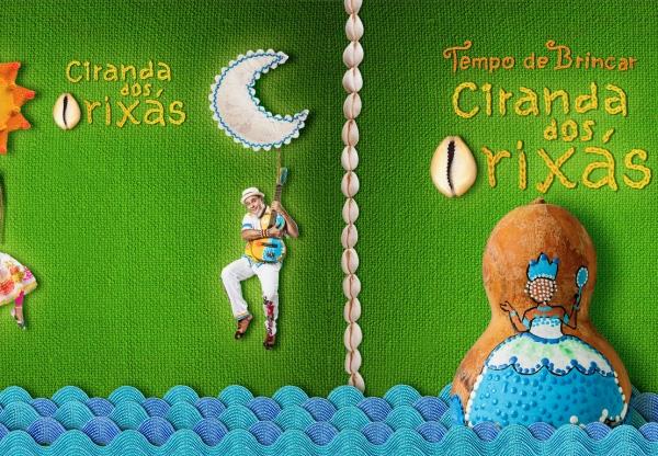 """Tempo de Brincar lança álbum """"Ciranda Dos Orixás"""" no Sesc Pompéia"""