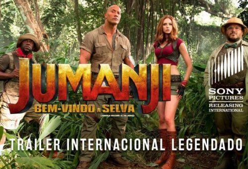 Jumanji bem-vindo a selva