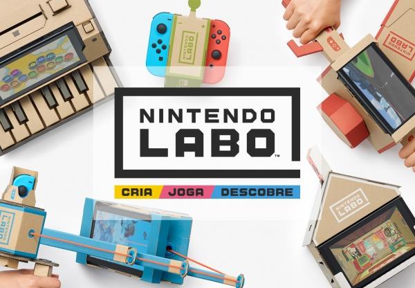 "Controvérsia sobre o novíssimo ""Nintendo Labo"""
